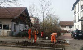 S-au reparat strǎzile la Curtea de Argeş