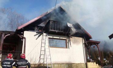 Ore de foc, la propriu si la figurat, pentru pompierii argesenei - 60 de evenimente in 24 de ore