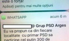 "Primarii din Arges se mobilizeaza pe WhatsApp: ""Sub 5000 de persoane ne face de ras"","
