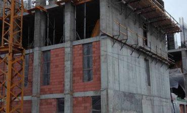 S-a construit si etajul cinci al spitalului din Mioveni - Se lucreaza in ritm alert