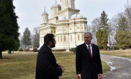 Vizita din SUA la Manastirea Curtea de Arges
