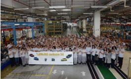 Motorul cu numarul un milion,  produs de UZINA DACIA