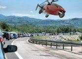 EXCLUSIV!O spune un primar din Argeş – Investim în drumuri dar peste 10-15 ani vom avea maşini zburǎtoare