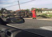 Accident cu trei victime in Arges - Intervine SMURD-u