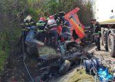 Fiica, nepotii si ginerele unui viceprimar argesean au murit in cumplitul accident din Olt
