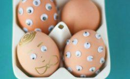 PAŞTE 2017: 20 de idei creative pentru vopsit şi ornat ouă