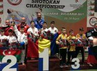 Karatiştii argeşeni şi lotul României, locul I la Campionatul Mondial