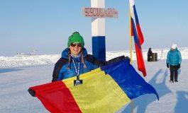 Simona Dumitrescu, prima femeie din România care a participat la Maratonul de la Polul Nord, a cucerit medalia de argint