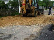 A fost reparat drumul afectat de alunecarile de teren