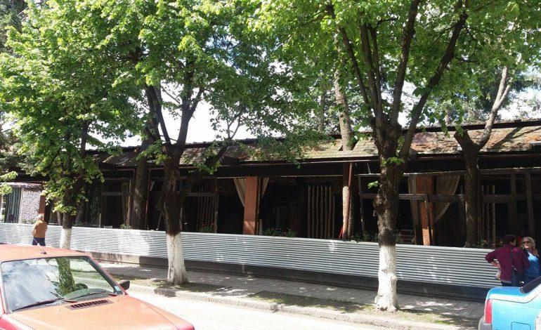 Alin Ciucu a inceput lucrarile – Se renoveaza Restaurantul Domnesc