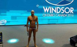 Este oficial! Bogdan Scarlat va reprezenta Argeşul la Mondialul de nataţie!