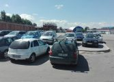 """Cu acordul primăriei, parc ilegal de maşini în buricul orasului - """"Suntem prieteni cu Gabi Jubleanu !"""""""