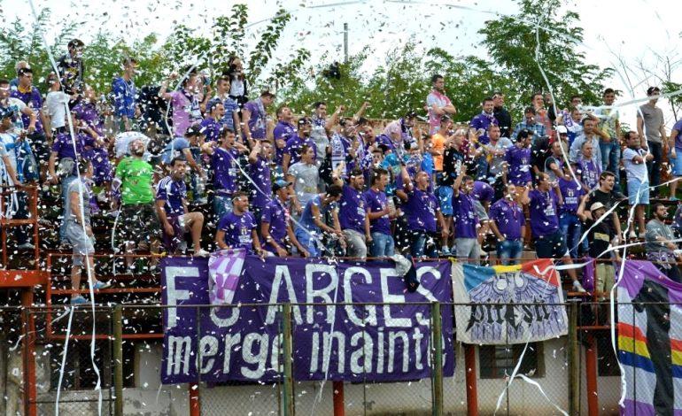Primul eşec pentru noul FC Argeş