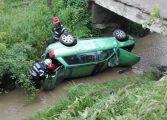 VIDEO! Accident grav la Valea Danului - 4 persoane au avut nevoie de medici