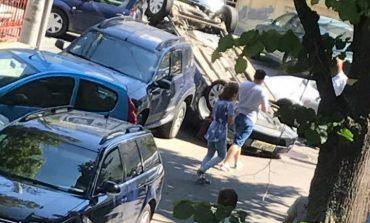 ACCIDENT SPECTACULOS CU BMW! Patronul de la ROMARTA a bagat in spital un bătrân