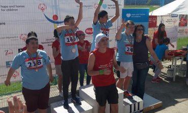 Felicitări ! Patru medalii de aur pentru Curtea de Argeş la Special Olympics