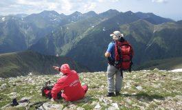 Batran pierdut in munti - Il cauta salvamontistii