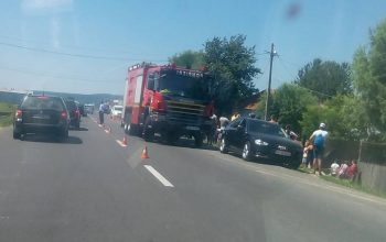 Accident la Mioveni -COPIL grav RANIT