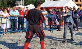 RUSINE ! Primarul si vicele au ignorat deschiderea festivalului medieval - Liberalii au salvat ce mai era de salvat din balciul PSD
