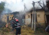 Trei case au fost trasnite azi in Arges