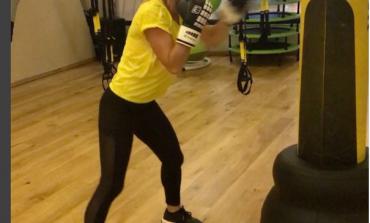 """Simona """"Rocky"""" Halep s-a întors! Cum se antrenează a doua jucătoare a lumii la sacul de box"""