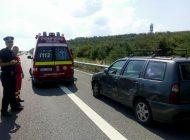 Accident!  Doua persoane incarcerate la Moraresti