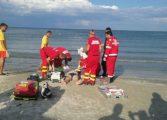 MOARTEA PANDESTE DUPA VALURI - Argesean înecat in mare INTERVINE ELICOPTERUL SMURD!
