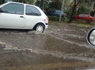 GALERIE FOTO Strazi inundate in Pitesti dupa banale ploi de vara ! SEMAFOR CULCAT LA PAMANT