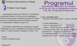 EVENIMENT - 45 de ani de la primul titul de campioana pentru FC Arges