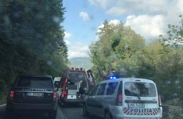 ACCIDENT Cumplit – MOTOCICLIST MORT
