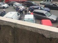 GALERIE FOTO! Scandal in Bascov - Politistii au folosit armele