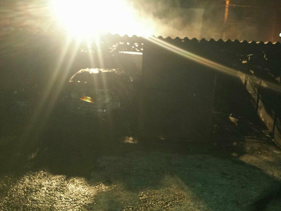 Incendiu puternic – Masini si garaje facute scrum