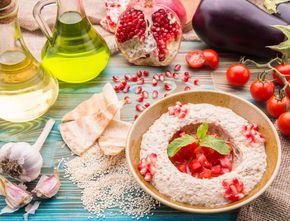 Mutabal – salată arăbească de vinete