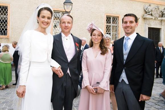 Principele Nicolae şi logodnica sa, apariţie impresionantă la nunta unui conte