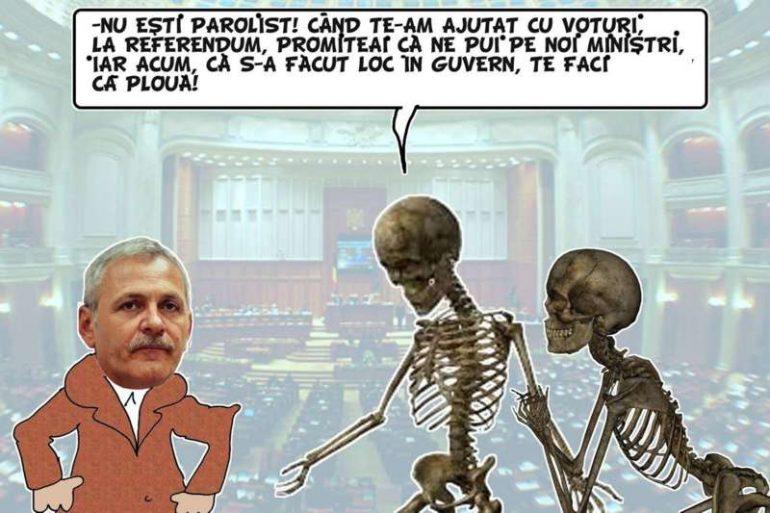 ACRITURI si … MURATURI – Cu mortu` in Guvern !