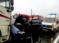 Accident! Victima in stare grava!