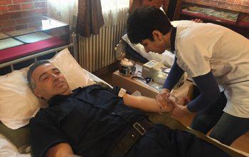 VIDEO! Jandarmii argeseni au donat sange