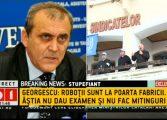 """INREDIBIL ! Important lider PSD persista: """"Nu, n-a fost nicio scapare! Robotii sunt la poarta fabricii """""""