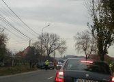 ACCIDENT la Curtea de Arges - masini facute ZOB si o femeie RANITA