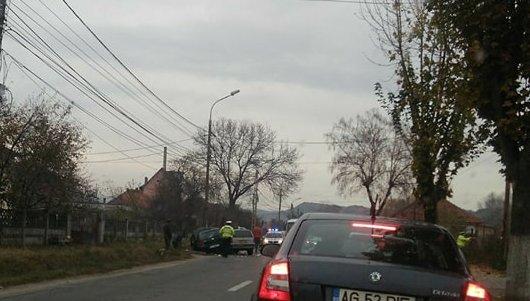 ACCIDENT la Curtea de Arges – masini facute ZOB si o femeie RANITA