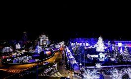 FOTO SPECTACULOS! Asa asteapta Mioveniul sărbătorile de iarna!