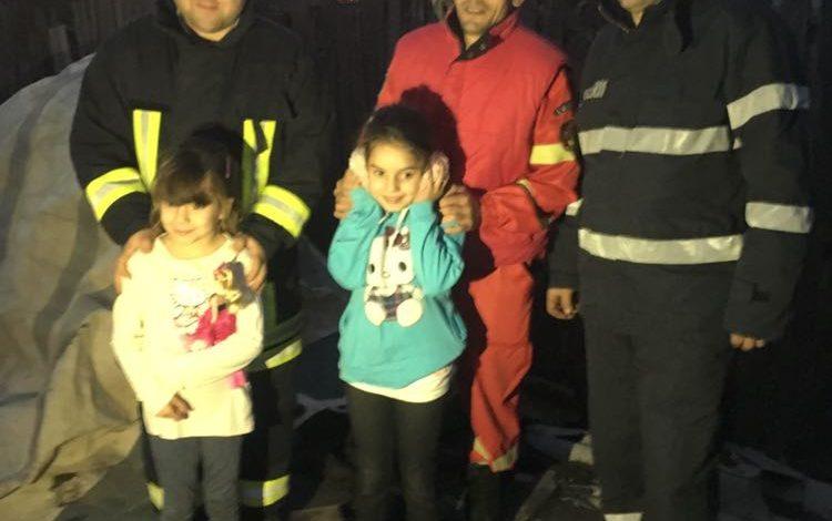 FOTO! Azi noapte, pompierii argeseni au fost mesagerii lui Mos Nicolae