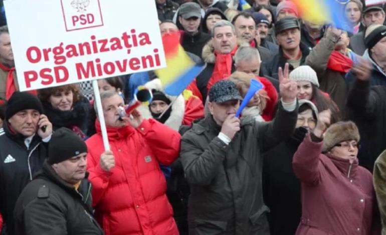 Miting PSD de amploare la Pitesti ! Se va protesta impotriva… nimanui !
