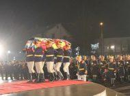 GALERIE FOTO - VIDEO! Moment istoric pentru Curtea de Argeș-Ultimul drum al ultimului rege!
