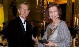 Printul Charles, Regina Sofia a Spaniei si membrii  familiei imperiale din Japonia - la inmormantarea Regelui Mihai