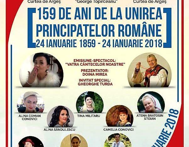 INTRARE LIBERA! Gheorghe Turda si alti invitati, pe 24 ianuarie la Curtea de Arges