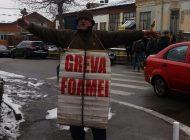 VIDEO - ACUM, protest in fata Judecatoriei