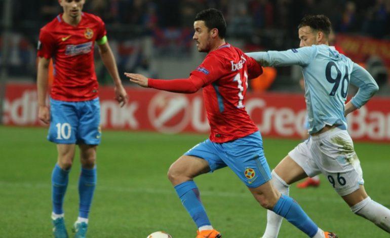 """LAZIO – FCSB 5-1. Prea mici pentru fotbalul adevărat! Roș-albaștrii au fost umiliți total pe """"Olimpico"""""""