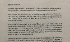 Sigur va fi un bun primar ! Afacerea turistica a lui Liviu Nicolae, premiata de cel mai mare portal de rezervari din lume !