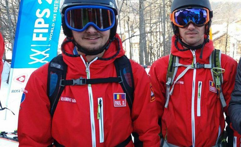Doi argeseni reprezinta Romania la un concurs de ski in Kopaonik